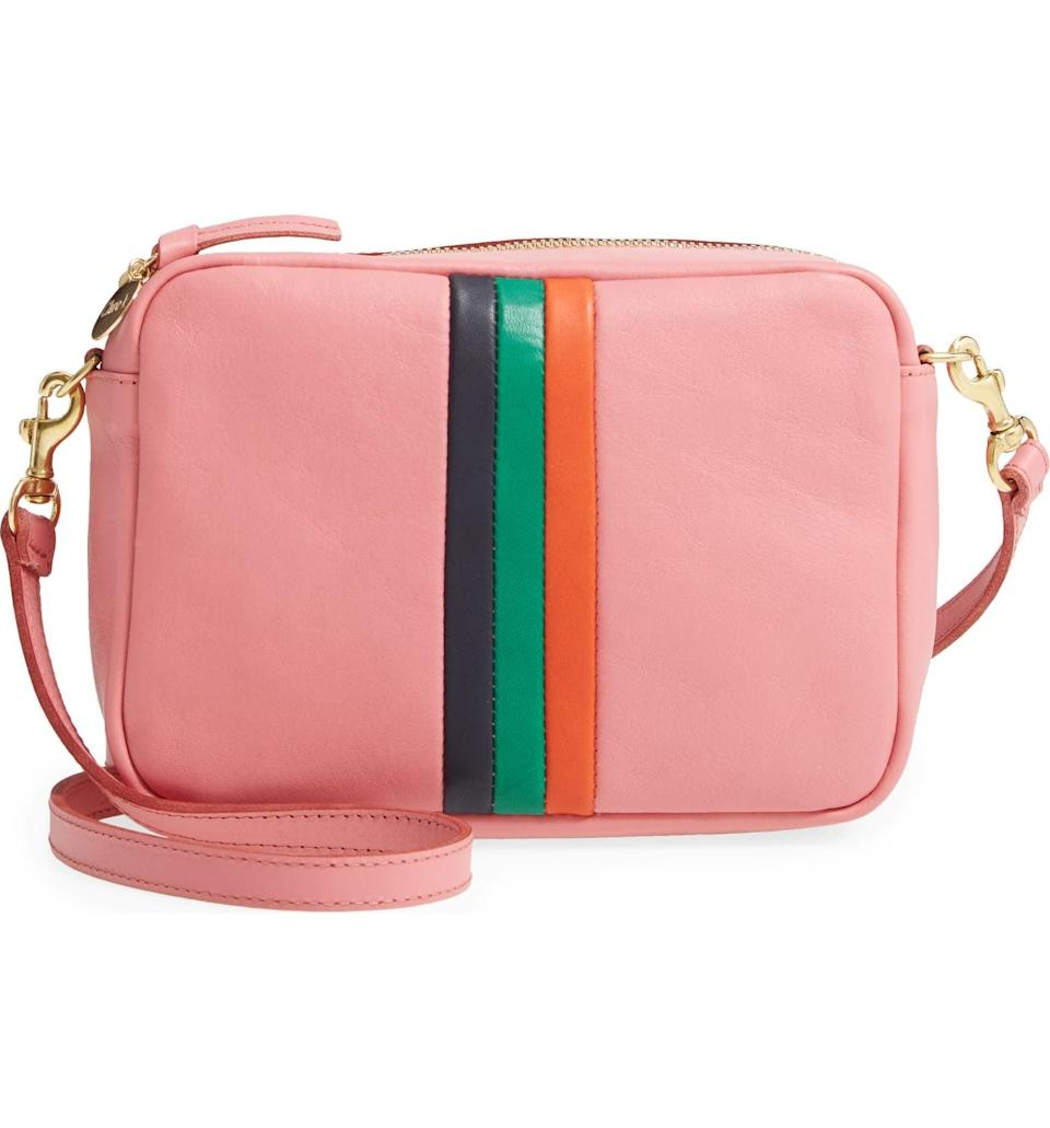 <p>A versatile camera bag silhouette is always handy to own. We adore the colors on this <span>Clare V. Midi Sac Leather Crossbody Bag</span> ($345).</p>