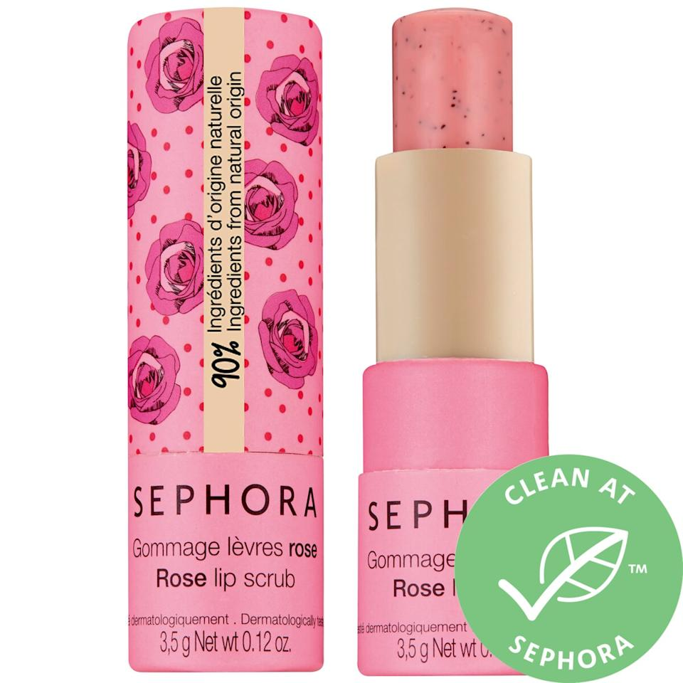 Sephora Collection Clean Lip Balm & Scrub. Image via Sephora