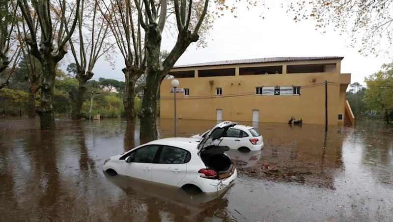 Two dead, power cut to 4,000 homes in storm-hit south of France