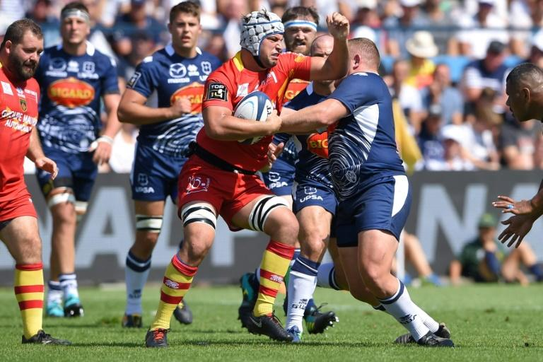 Agen took four points in their early season relegation battle with Perpignan
