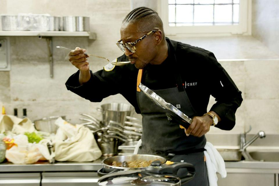 """<p>According to the show's casting page, you're encouraged to apply if you are a """"restaurateur, executive chef, chef de cuisine or sous chef."""" Basically, if cooking is merely a hobby of yours, this isn't the show for you. But good news! Bravo is <a href=""""https://topchefamateurss2.castingcrane.com/"""" rel=""""nofollow noopener"""" target=""""_blank"""" data-ylk=""""slk:currently casting"""" class=""""link rapid-noclick-resp"""">currently casting</a> for <em>Top Chef Amateurs. </em></p>"""