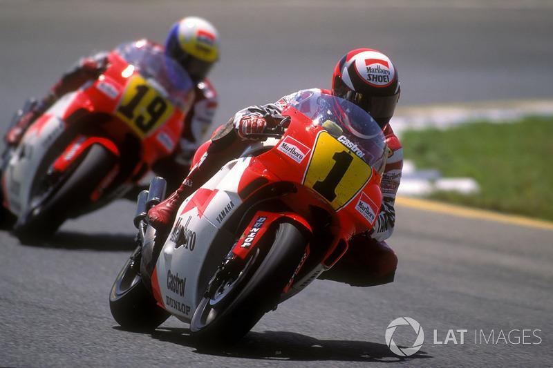 "1991 - Wayne Rainey, Yamaha<span class=""copyright"">Gold and Goose / Motorsport Images</span>"