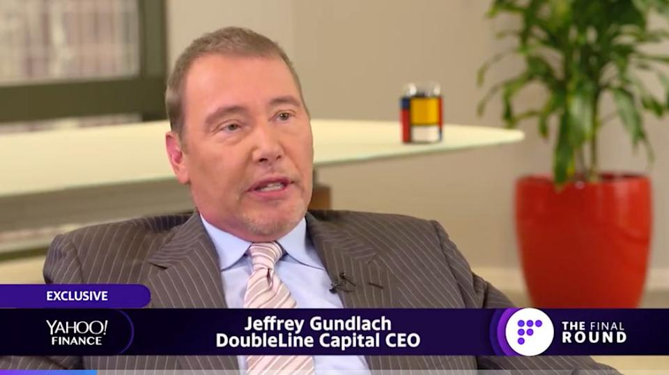 DoubleLine CEO and founder Jeffrey Gundlach sits down with Yahoo Finance's Julia La Roche for an exclusive interview. Source: Yahoo Finance