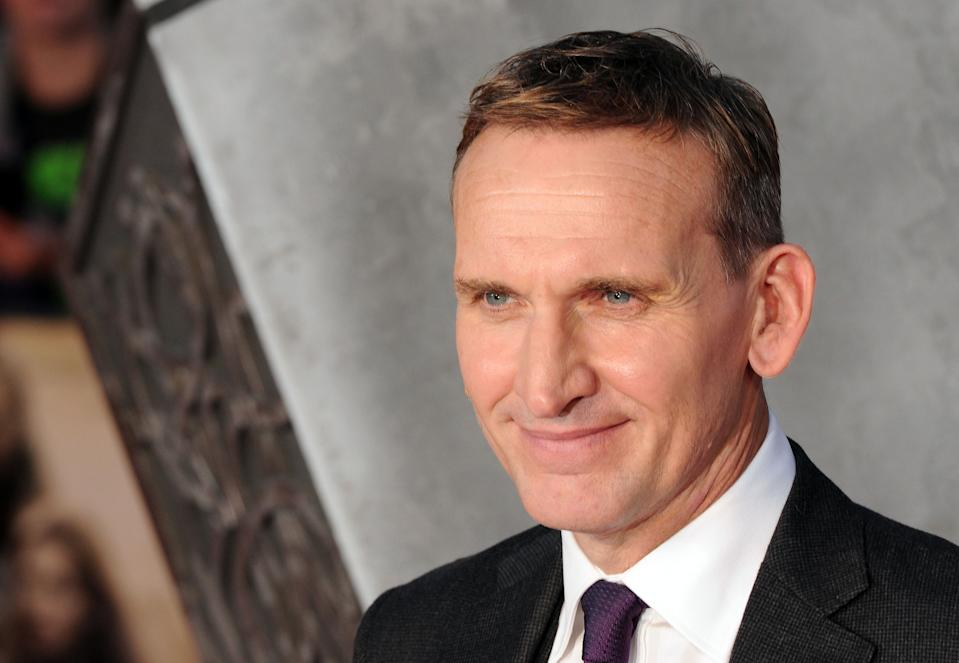 LONDON, UNITED KINGDOM - OCTOBER 22: Christopher Eccleston attends the World Premiere of