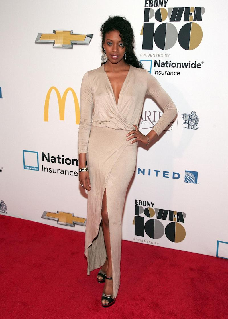 Actress Condola Rashad attends the Ebony Power 100 Gala, on Monday, Nov. 4, 2013, in New York. (Photo by Andy Kropa/Invision/AP)