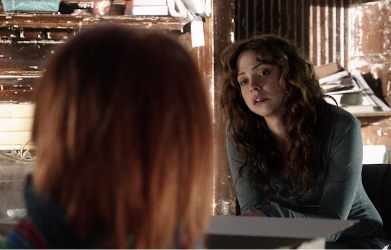 Fiona Dourif in 2013's 'Curse of Chucky' (credit: Universal)