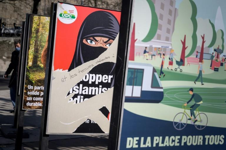 Critics of the proposal on face-coverings describe it as Islamophobic