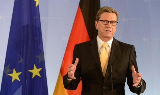 Westerwelle called for further negotiations with Tehran