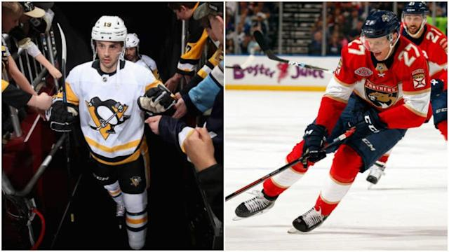 The needs of the Penguins and Panthers lined up perfectly. (NBC)