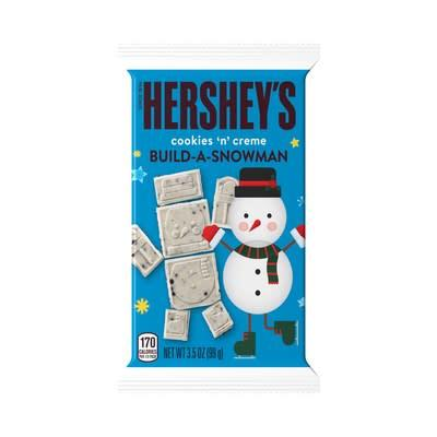 HERSHEY'S Cookies 'N' Creme Build-A-Snowman.