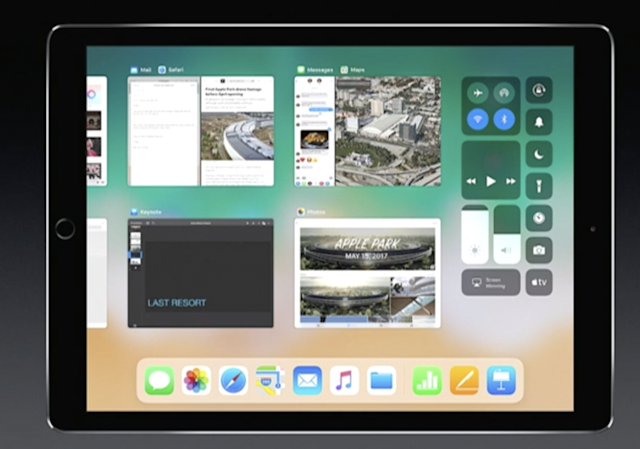 "The iPad now offers a ""Mission Control,"" showing what's going on in all your apps."