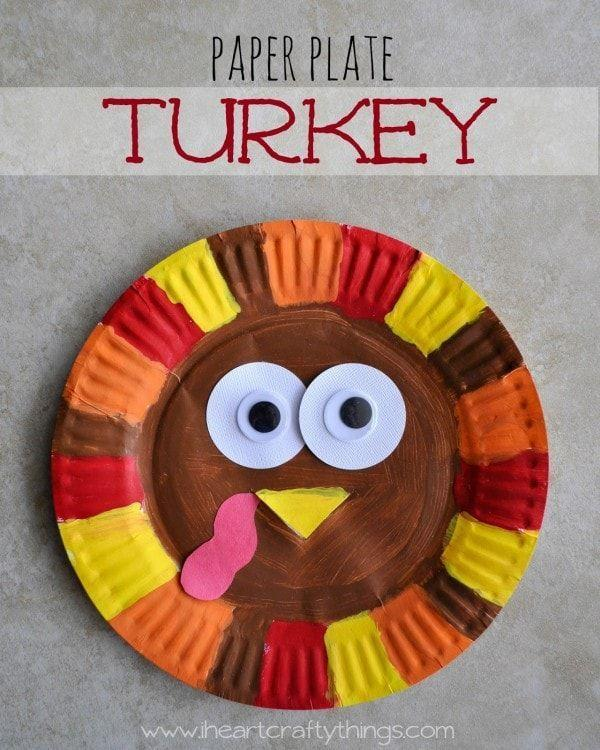 """<p>The best crafts are as zany as they are colorful. This turkey features the biggest googly eyes your little ones will have ever seen—and a hilarious pink wattle to boot.</p><p><strong>Get the tutorial at <a href=""""https://crayonsandcravings.com/thanksgiving-chocolate-kiss-turkey-craft/"""" rel=""""nofollow noopener"""" target=""""_blank"""" data-ylk=""""slk:Crayons & Cravings"""" class=""""link rapid-noclick-resp"""">Crayons & Cravings</a>. </strong></p><p><strong><a class=""""link rapid-noclick-resp"""" href=""""https://www.amazon.com/Pieces-Self-Adhesive-Scrapbooking-Accessories-Assorted/dp/B01EV0YQ7M?tag=syn-yahoo-20&ascsubtag=%5Bartid%7C10050.g.28638625%5Bsrc%7Cyahoo-us"""" rel=""""nofollow noopener"""" target=""""_blank"""" data-ylk=""""slk:SHOP GOOGLY EYES"""">SHOP GOOGLY EYES</a><br></strong></p>"""
