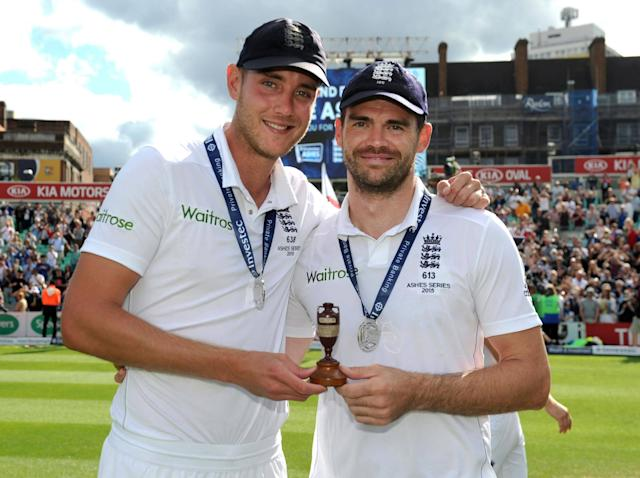 Stuart Broad and James Anderson have been mainstays of the England side for a decade: Getty