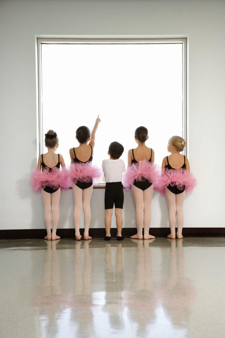 A mum has sparked a debate online after asking advice to discourage her son wanting to do ballet [Photo: Getty]