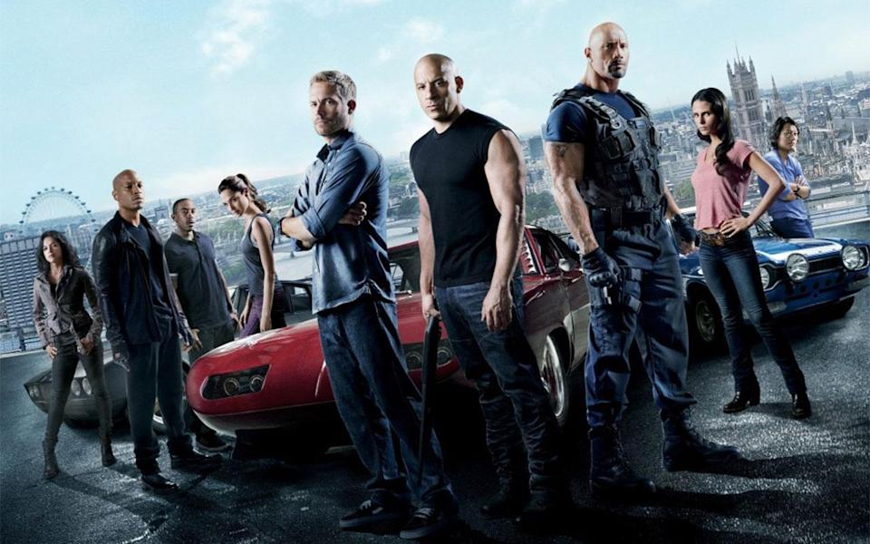 'Fast and Furious 6' brought the crew to the UK (Credit: Universal Pictures)