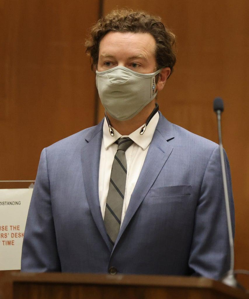 LOS ANGELES, CA – SEPTEMBER 18: Actor Danny Masterson is arraigned on rape charges at Clara Shortridge Foltz Criminal Justice Center on September 18, 2020 in Los Angeles, California. Masterson has been charged with forcibly raping three women on separate occasions between 2001 and 2003. (Photo by Lucy Nicholson – Pool/Getty Images)