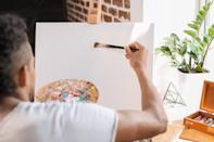 """If you haven't reached a point of feeling accomplished in your creative endeavors by the time you reach your 40s, <a href=""""https://bestlifeonline.com/science-says-this-is-the-age-when-creativity-hits-its-peak/?utm_source=yahoo-news&utm_medium=feed&utm_campaign=yahoo-feed"""" rel=""""nofollow noopener"""" target=""""_blank"""" data-ylk=""""slk:that doesn't mean you never will"""" class=""""link rapid-noclick-resp"""">that doesn't mean you never will</a>. In fact, a 2019 study published in the journal <a href=""""https://link.springer.com/article/10.1007%2Fs10645-019-09339-9"""" rel=""""nofollow noopener"""" target=""""_blank"""" data-ylk=""""slk:De Economist"""" class=""""link rapid-noclick-resp""""><em>De Economist</em></a> found that creativity can peak in your mid-50s. Late bloomers are a real thing! Case in point: <strong>Martha Stewart</strong>, <strong>Octavia Spencer</strong>, <strong>Ricky Gervais</strong>, and <strong>Samuel L. Jackson</strong> all <a href=""""https://bestlifeonline.com/40-people-who-became-famous-after-40/?utm_source=yahoo-news&utm_medium=feed&utm_campaign=yahoo-feed"""" rel=""""nofollow noopener"""" target=""""_blank"""" data-ylk=""""slk:got their big breaks over the age of 40"""" class=""""link rapid-noclick-resp"""">got their big breaks over the age of 40</a>."""