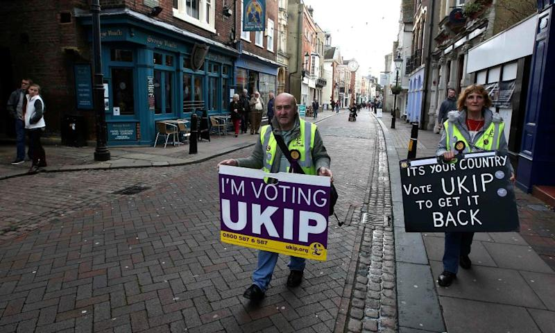 Ukip supporters Rochester