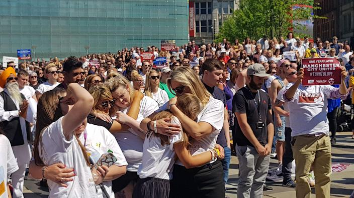 The terrorist attack in Manchester in May 2017 claimed 22 lives. (PA)