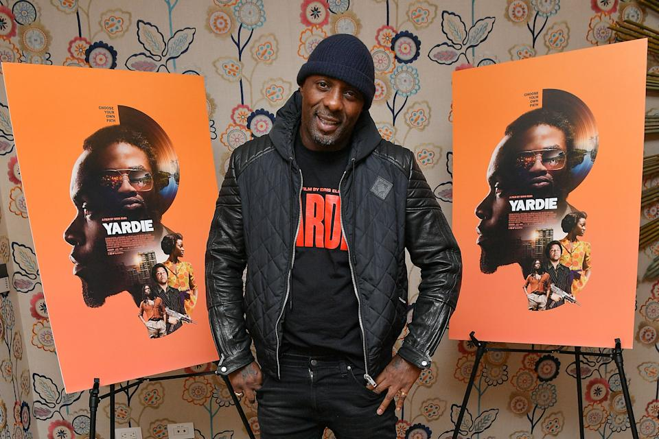 """NEW YORK, NEW YORK - MARCH 10: Idris Elba attends the """"Yardie"""" New York screening at the Crosby Hotel on March 10, 2019 in New York City. (Photo by Dia Dipasupil/Getty Images)"""
