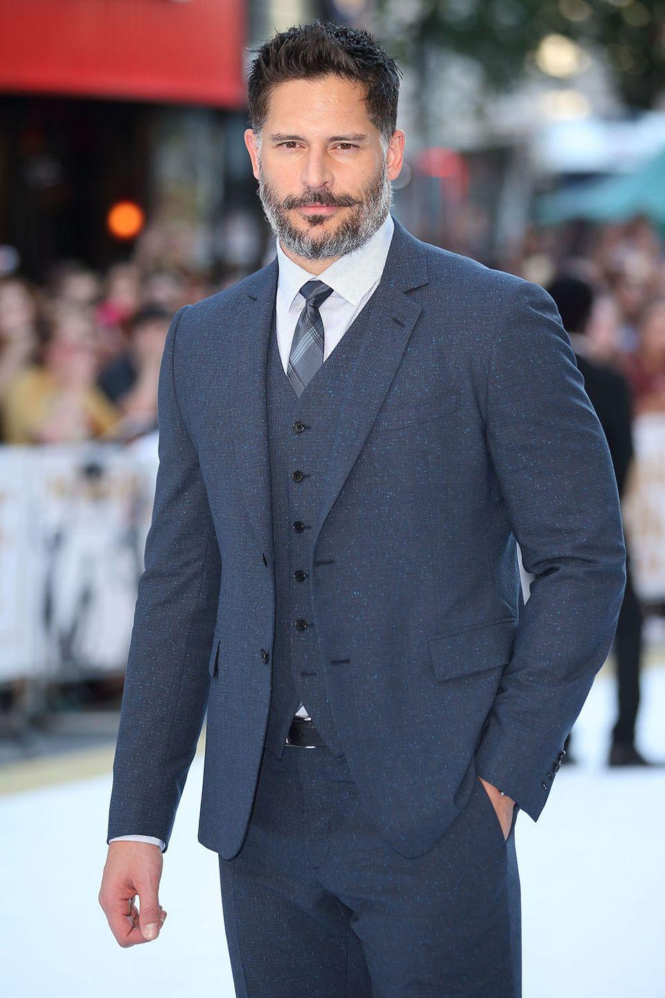 """<p>The <em>Magic Mike</em> star revealed that he didn't have much choice but to get sober in an interview with the <a href=""""http://www.huffingtonpost.com/2013/12/03/joe-manganiello-alcohol-problem_n_4379604.html"""" rel=""""nofollow noopener"""" target=""""_blank"""" data-ylk=""""slk:Huffington Post"""" class=""""link rapid-noclick-resp"""">Huffington Post</a>. Manganiello recalls the struggle he went through before getting sober: """"I was homeless, careless and broke with no career, so yes, it was worth it [to get sober].""""</p>"""