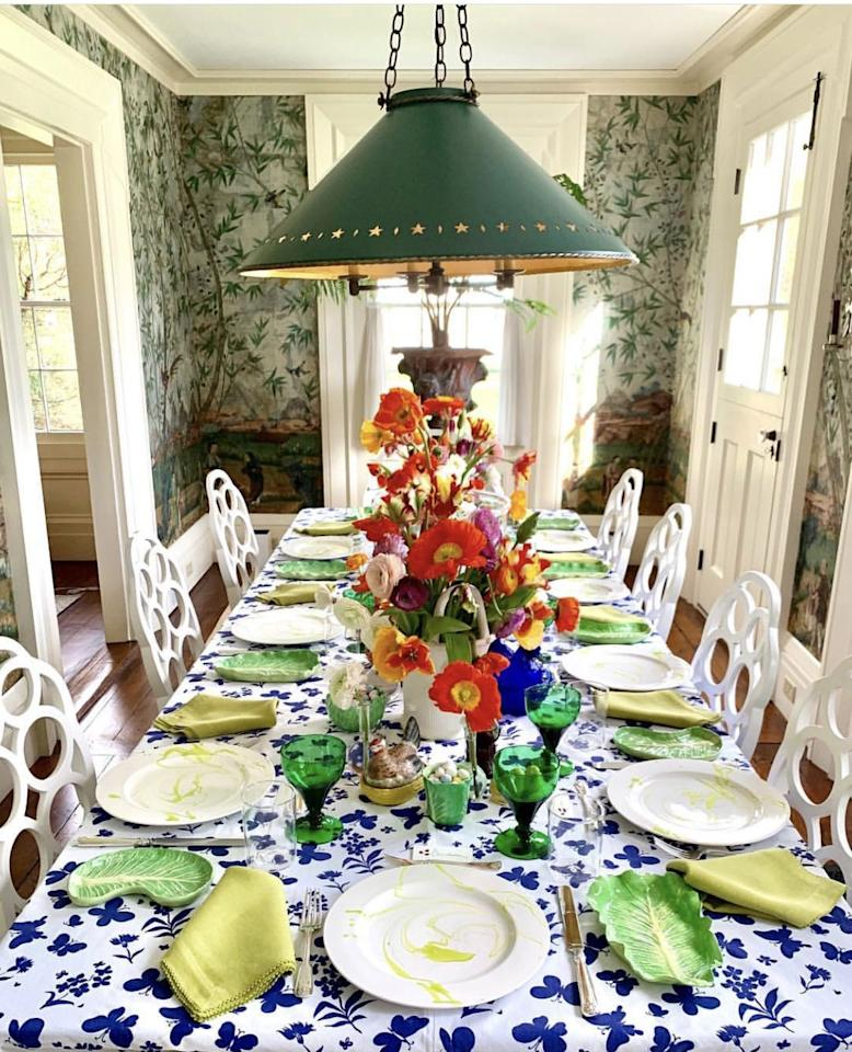 <p>Shimmering, marbleized, dripping eggs; overflowing bowls of rainbow candies; and succulent arrangements of brightly-colored roses and poppies.  Did we mention the requisite blue and white galore? We're talking about Easter (and Passover) tablescapes, of course, and this year, we've picked our favorites from our design tribe. Done decorating for the holidays? As card carrying members of the <em>ED</em> universe, we know it's never too early to start planning for next year-or next weekend. Scroll for how the pros-from Martha Stewart and Christopher Spitzmiller to Dennis Basso and Jill Haber- set their tables. </p>