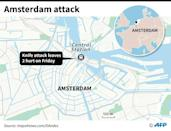 Amsterdam Central Station is in the heart of the Dutch capital