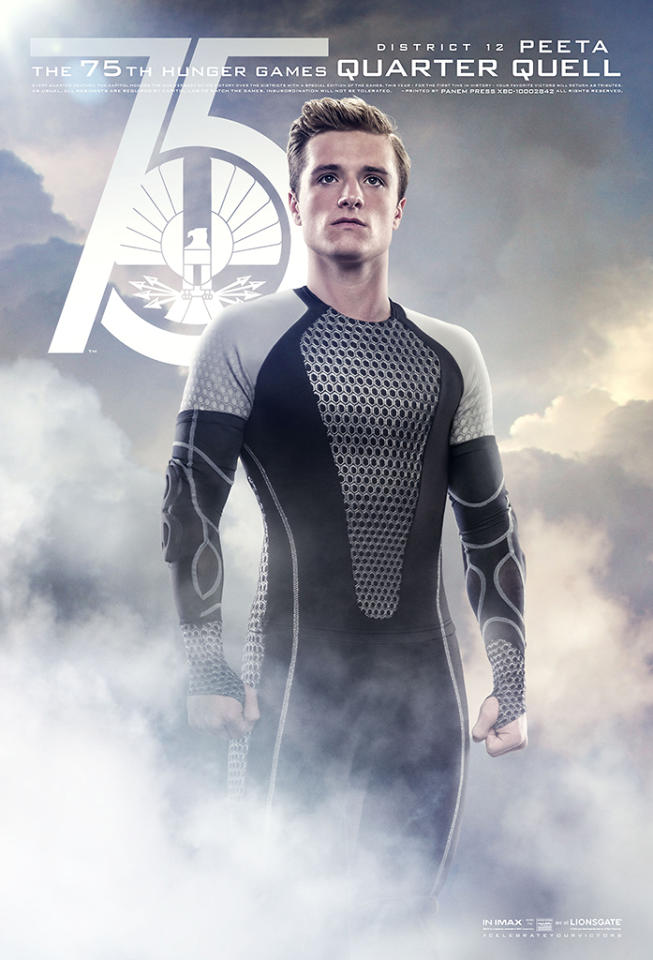 "Josh Hutcherson in Lionsgate's ""The Hunger Games: Catching Fire"" - 2013"
