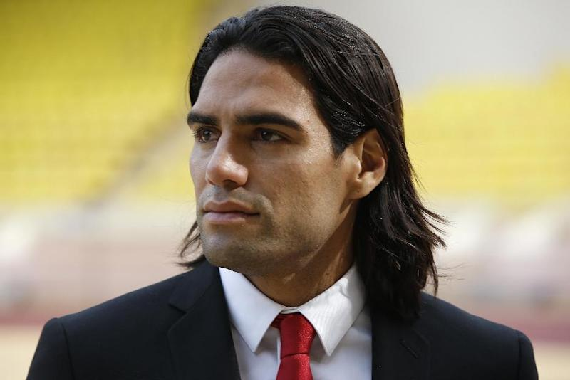 Monaco's Colombian forward Radamel Falcao looks on before the French L1 football match Monaco vs Lille on August 30, 2014 at the Louis II stadium in Monaco (AFP Photo/Valery Hache)