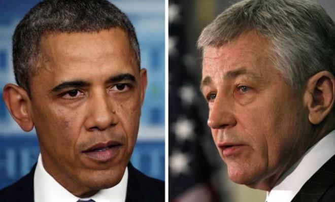 President Obama may have great trust in former Sen. Chuck Hagel (R-Neb.), but Republicans sure don't.