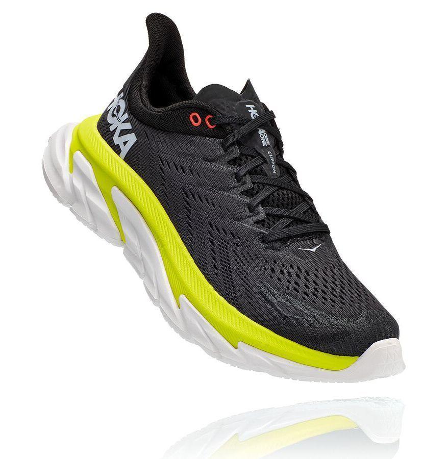 """<p><strong>Hoka One</strong></p><p>hokaoneone.com</p><p><strong>$160.00</strong></p><p><a href=""""https://go.redirectingat.com?id=74968X1596630&url=https%3A%2F%2Fwww.hokaoneone.com%2Fmens-road%2Fclifton-edge%2F1110510.html&sref=https%3A%2F%2Fwww.esquire.com%2Flifestyle%2Fg23013003%2Fbest-gifts-for-husband-ideas%2F"""" rel=""""nofollow noopener"""" target=""""_blank"""" data-ylk=""""slk:Buy"""" class=""""link rapid-noclick-resp"""">Buy</a></p><p>Hokas offer insane cushioning for runners—just look at the sole on this Clifton Edge, one the brand's most popular models.</p>"""