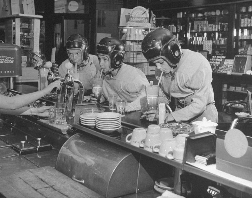 <p>Kids have always loved diners, since they can eat at the counter and get ice cream sodas. Because they were inexpensive, diners were a popular spot for them. </p>