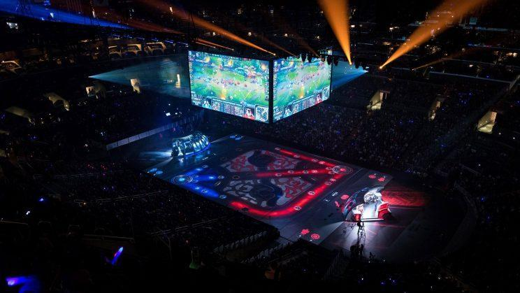 The League of Legends Championship series is a pathway to Worlds.