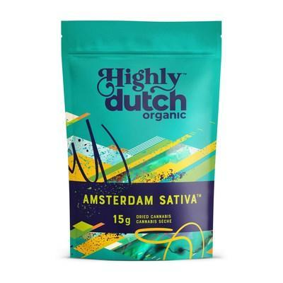 Highly Dutch Amsterdam Sativa (CNW Group/The Green Organic Dutchman Holdings Ltd.)