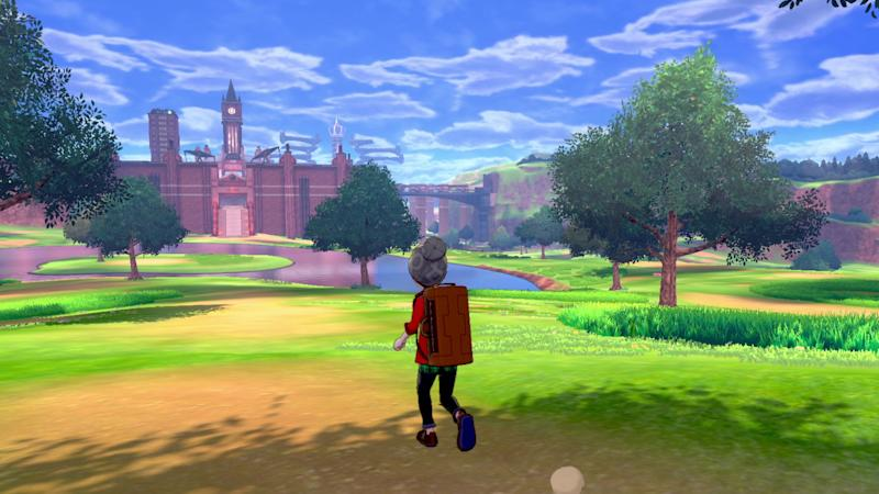 'Pokemon Sword,' and 'Pokemon Shield,' feature large open-world areas where you can battle and catch pokemon. (Image: Nintendo)