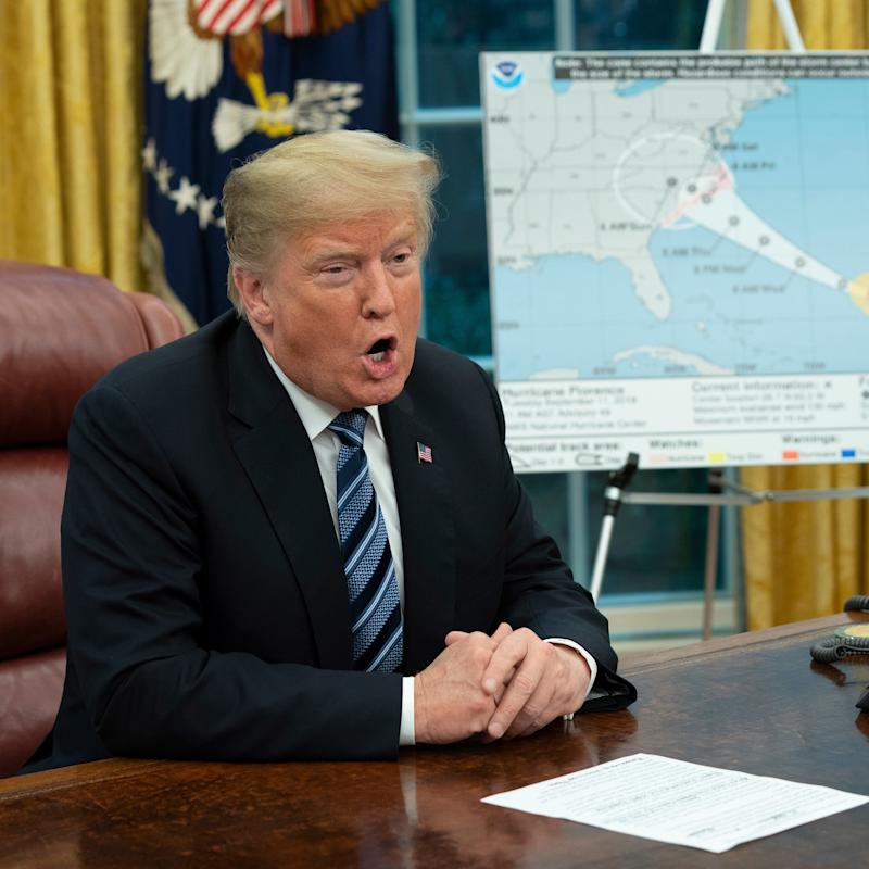For Trump, Hurricane Florence Will Be a Test He's Already Failed