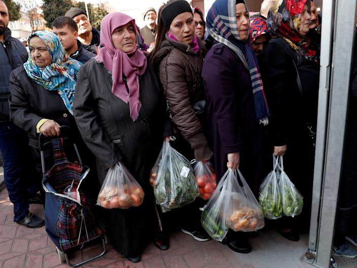 Cheap vegetables and cries of terror: the high stakes of Turkey's local elections