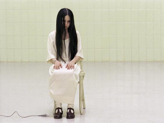 "Daveigh Chase plays Samara Morgan in the US franchise ""The Ring"" (Rex)"