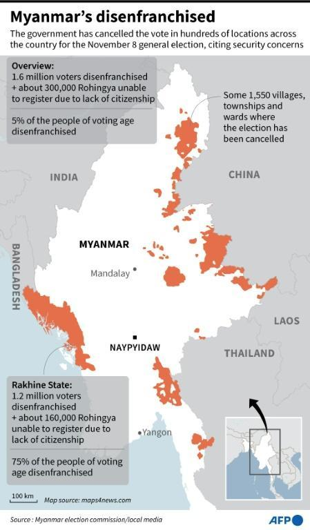 Myanamar's vote cancellations