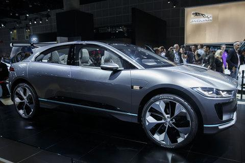 I-Pace - Credit: Bloomberg