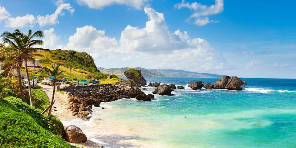 """<p>Barbados is a sophisticated island with sandy stretches dotted with <a rel=""""nofollow noopener"""" href=""""https://www.bestproducts.com/fun-things-to-do/g2470/tropical-caribbean-beach-resorts/"""" target=""""_blank"""" data-ylk=""""slk:upscale resorts"""" class=""""link rapid-noclick-resp"""">upscale resorts</a>, especially along its west coast, dubbed the Platinum Coast. Known as the """"most British"""" island, you can enjoy afternoon tea and watch a cricket match, but the island also has its own distinct West Indian vibe, including casual rum shacks and its famous Friday-night <a rel=""""nofollow noopener"""" href=""""https://www.tripadvisor.com/Attraction_Review-g1183194-d1771793-Reviews-Oistin_s_Friday_Night_Fish_Fry-Oistins_Christ_Church_Parish_Barbados.html"""" target=""""_blank"""" data-ylk=""""slk:Oistin's fish fry"""" class=""""link rapid-noclick-resp"""">Oistin's fish fry</a>, with live steel drum music. </p><p><strong>More:</strong> <a rel=""""nofollow noopener"""" href=""""https://www.bestproducts.com/fun-things-to-do/g21237324/most-beautiful-islands-in-the-world/"""" target=""""_blank"""" data-ylk=""""slk:These Are the Most Beautiful Islands Around the World"""" class=""""link rapid-noclick-resp"""">These Are the Most Beautiful Islands Around the World</a></p>"""