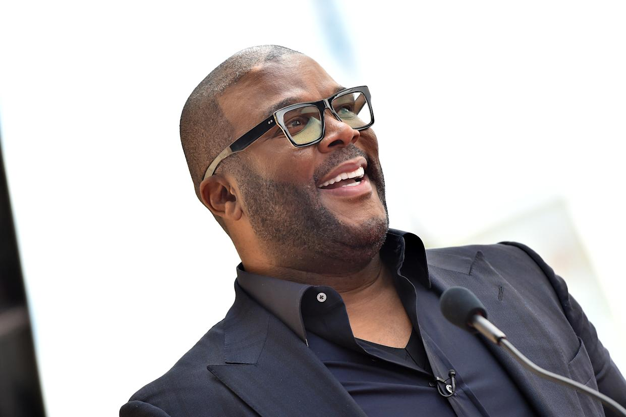 """Tyler Perry said he hopes people """"learn to love and embrace each other"""" post-coronavirus. (Photo: Axelle/Bauer-Griffin/FilmMagic)"""