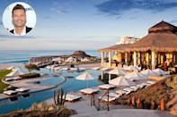 """<p><strong>Location:</strong> Los Cabos, Mexico</p> <p>Ryan Seacrest is a frequent visitor to <a href=""""https://www.rosewoodhotels.com/en/las-ventanas-los-cabos"""" rel=""""nofollow noopener"""" target=""""_blank"""" data-ylk=""""slk:Las Ventanas"""" class=""""link rapid-noclick-resp"""">Las Ventanas</a>, a Rosewood resort in Los Cabos, Mexico. Justin Bieber and Sophia Richie have also been spotted there.</p>"""