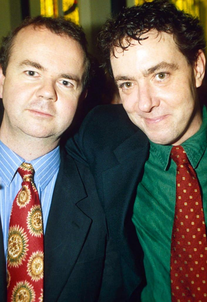 With Ian Hislop, 1994 - Richard Young/Shutterstock