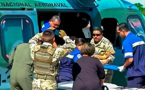 Fourteen people who were tortured were taken to hospital - Credit: GETTY IMAGES