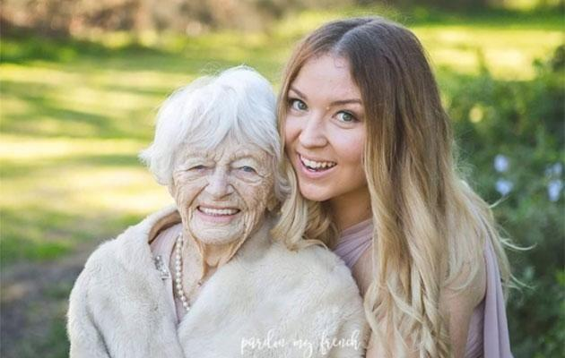 Grandma and granddaughter goals. Source: Pardon My French Photography/Instagram