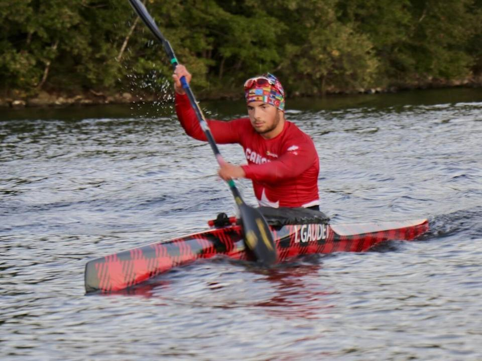 Ian Gaudet of Dartmouth, N.S., won three gold medals at the Canadian championships in Ottawa this summer and a bronze at the world junior championships. (Paul Palmeter/CBC - image credit)