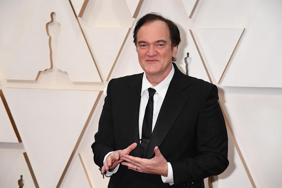 HOLLYWOOD, CALIFORNIA - FEBRUARY 09: Writer-director Quentin Tarantino attends the 92nd Annual Academy Awards at Hollywood and Highland on February 09, 2020 in Hollywood, California. (Photo by Jeff Kravitz/FilmMagic)