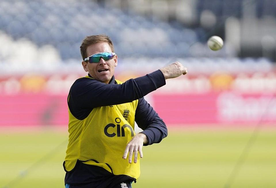 Eoin Morgan's England side will play its opening match of this year's men's Twenty20 World Cup against the West Indies (Owen Humphreys/PA) (PA Wire)