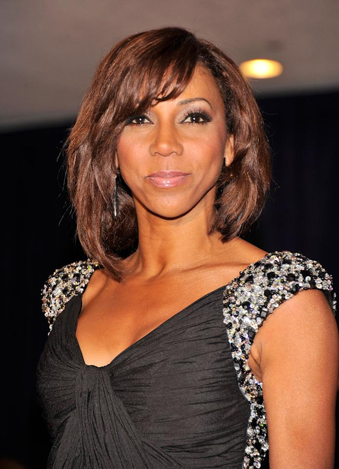 WASHINGTON, DC - APRIL 28: Holly Robinson Peete attends the 98th Annual White House Correspondents' Association Dinner at the Washington Hilton on April 28, 2012 in Washington, DC.  (Photo by Stephen Lovekin/Getty Images)